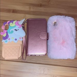 Lot of 3 I phone X/XS cases